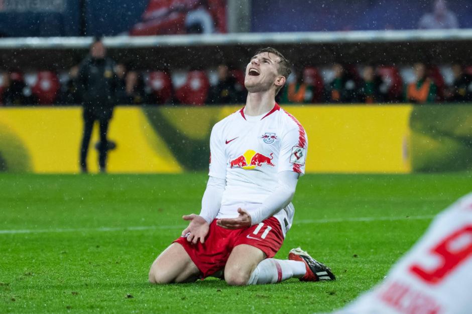 Timo Werner war der Matchwinner für Leipzig.