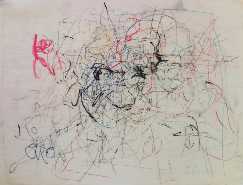 H.C. Degn zeigt in der Galerie Mathias Mayr ganz frühe Arbeiten.
