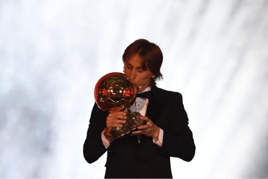 Der kroatische Superstar von Real Madrid behielt im Kampf um den goldenen Ball für den besten Fußballer der Welt die Oberhand.