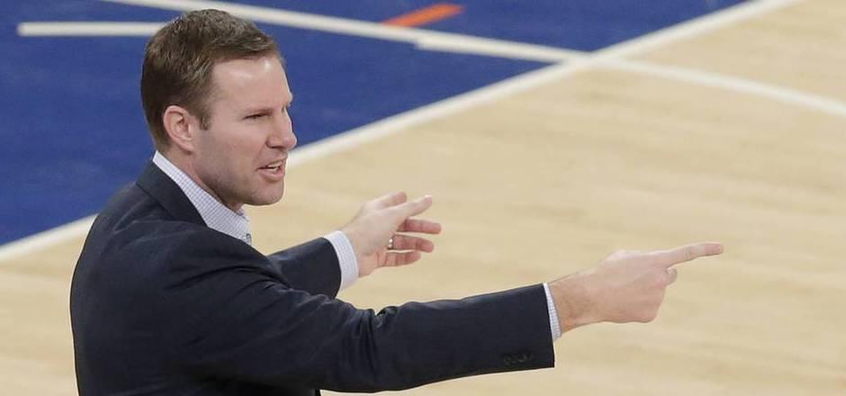 Coach Fred Hoiberg wurde bei den Bulls gefeuert.
