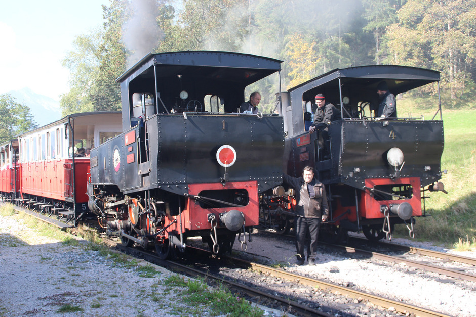 Vom Bahnhof Eben bis Seespitz ist eine Streckensanierung notwendig. Die Zeit drängt, wenn man im Mai die Saison starten will.