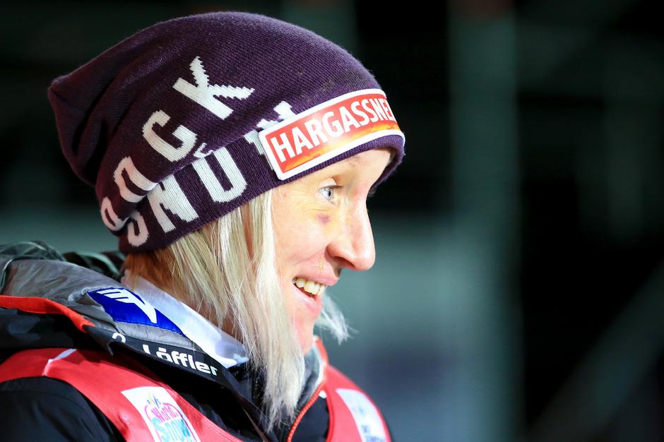 Skisprung-Ass Daniela Iraschko-Stolz.