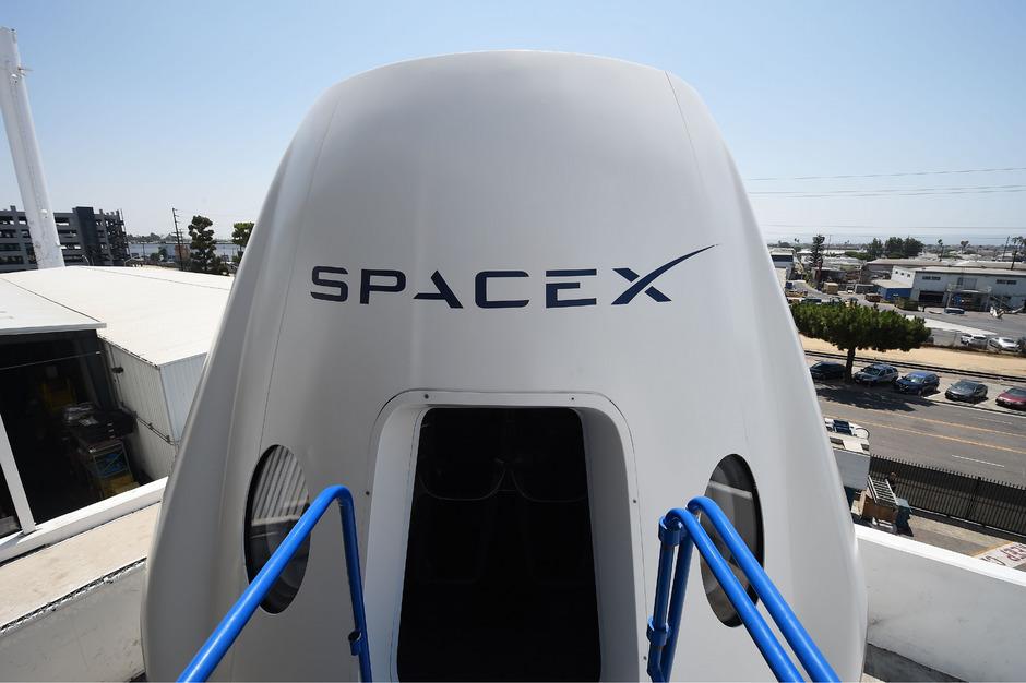 """40 Mäuse sollen an Bord der Raumkapsel """"Dragon"""" zur ISS gebracht werden."""
