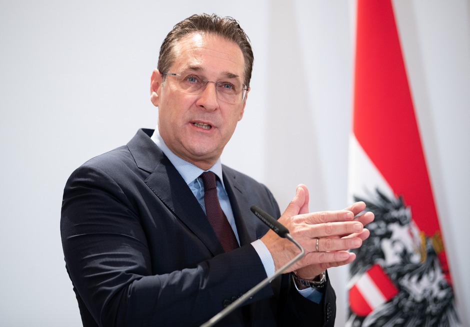 Sportminister Heinz-Christian Strache (FPÖ).