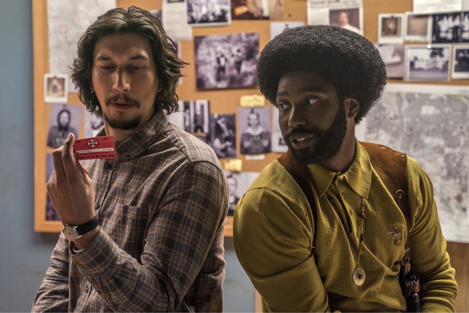 """Der Spike Lee-Film """"BlacKkKlansman"""" ist unter den Favoriten des Filmverbands."""