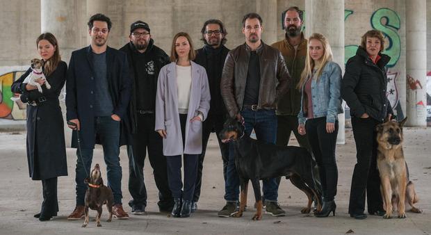 """Der Cast von """"Dogs of Berlin""""."""