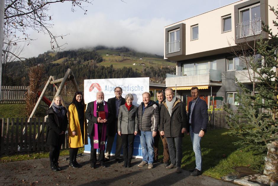 Große Freude herrschte bei der Übergabe der neuen Wohnungen der Alpenländischen in Westendorf.