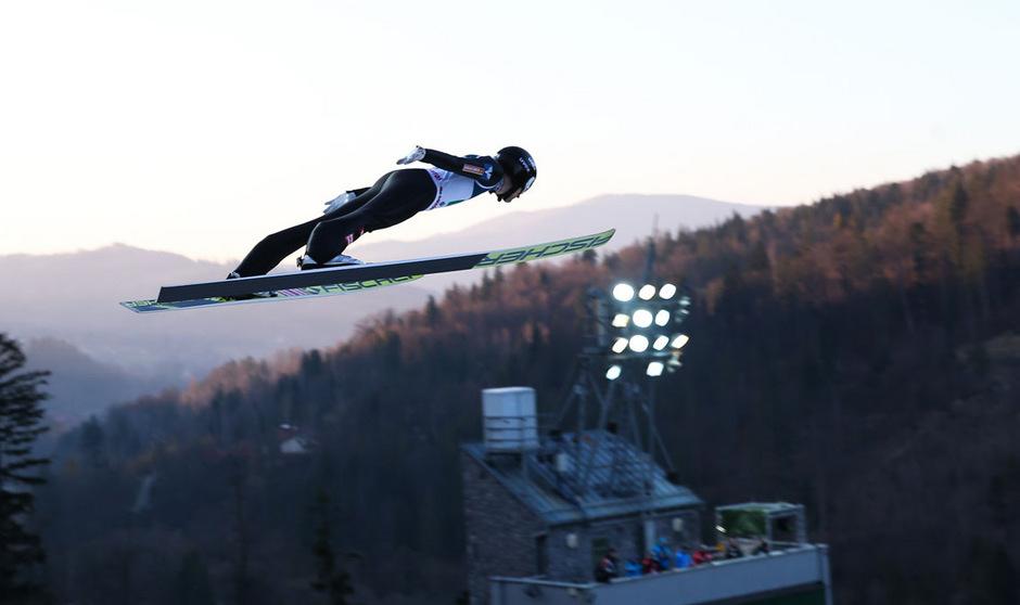 Clemens Aigner und Co. üben in Lillehammer für neue Höhenflüge.