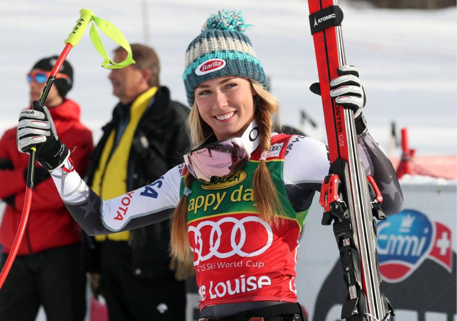 Mit dem Super-G-Triumph in Lake Louise feierte Mikaela Shiffrin nun Siege in allen alpinen Disziplinen.