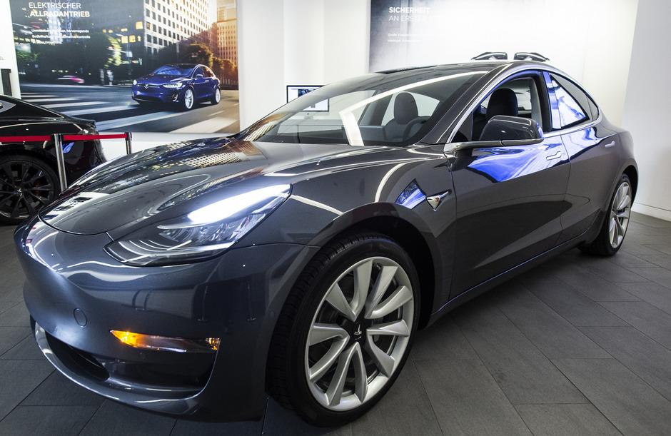 Das Model 3 von Tesla.