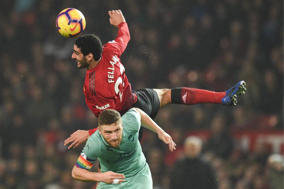 ManU und Arsenal trennten sich mit einem 2:2-Unentschieden.