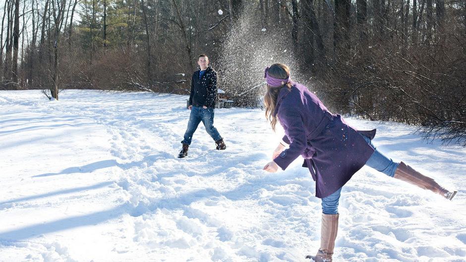 """""""Jeder in Severance sollte in der Lage sein, eine Schneeballschlacht zu haben, wie überall auf der Welt"""", argumentierte der 9-Jährige."""