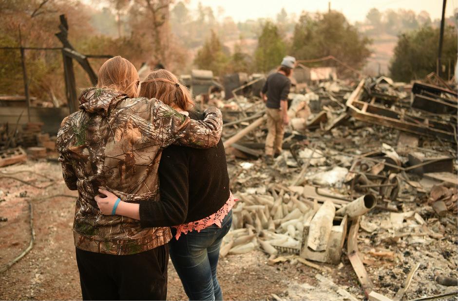 Ein Bild der Verwüstung: Mehr als 18.000 Häuser wurden zerstört.