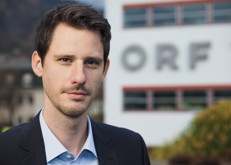 David Runer wurde zum neuen Chefredakteur im ORF-Landesstudio Tirol bestellt.