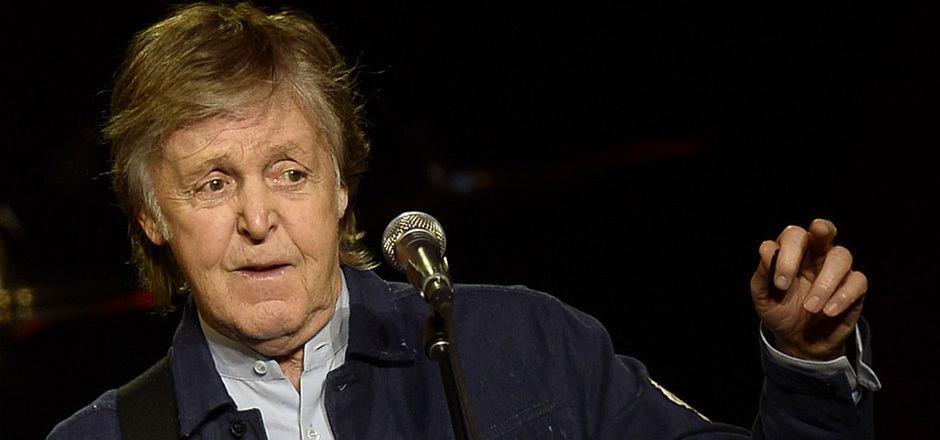 Poplegende Paul McCartney gab in der Wiener Stadthalle ein Konzert.