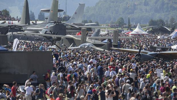 300.000 Besucher wurden bei der Airpower16 in Zeltweg gezählt. Im kommenden Jahr sollen
