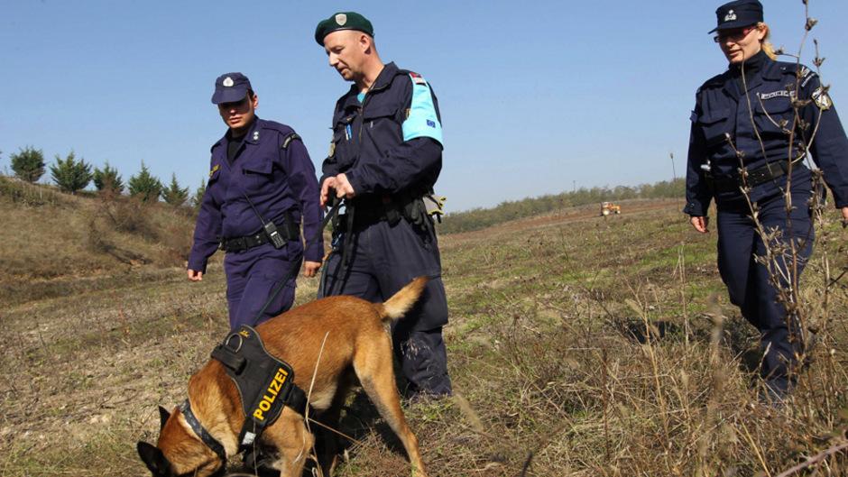 Frontex-Grenzschützer (Archivbild).