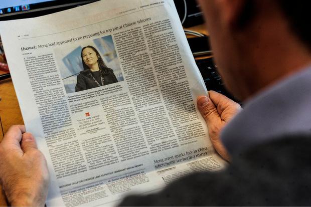 Meng Wanzhou, die Tochter des Huawei-Gründers, war am 1. Dezember nach Aufforderung der US-Behörden im kanadischen Vancouver in Gewahrsam genommen worden.