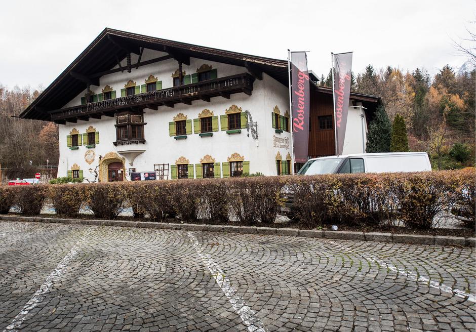 Das Rosenberger-Restaurant in Innsbruck Ampass.