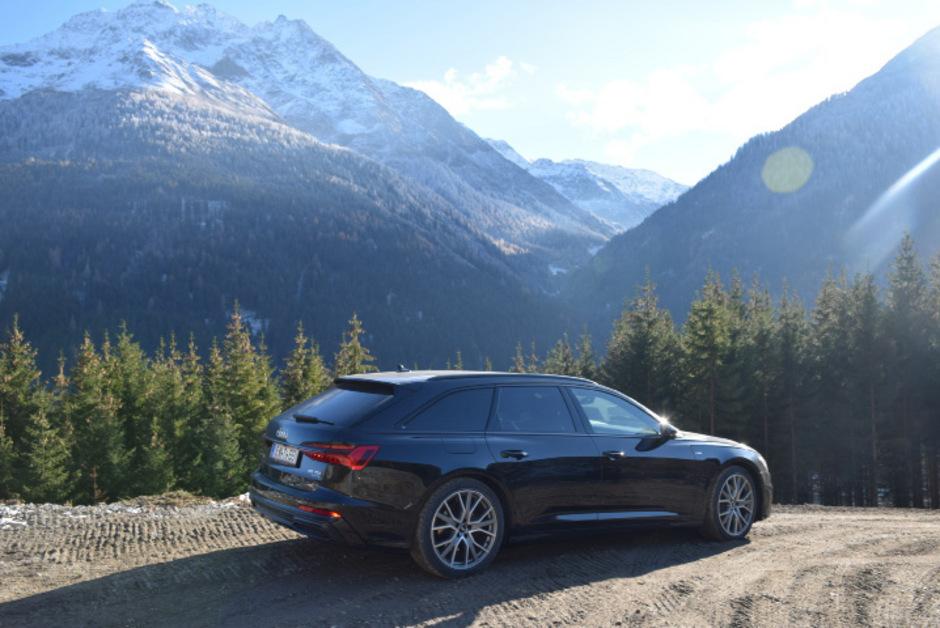 Audi hat das Bauen schöner Kombis nicht verlernt, wie der neue A6 Avant beweist.Fotos: Höscheler
