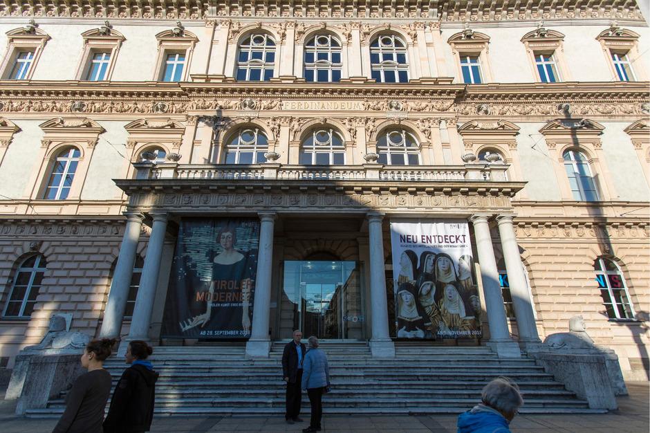 Das Ferdinandeum bekommt für das 200-Jahr-Jubiläum im Jahr 2023 einen neuen Look verpasst, zumindest innen.