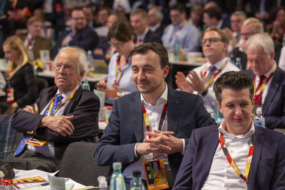 Paul Ziemiak beim 31. Parteitag der CDU Deutschlands.