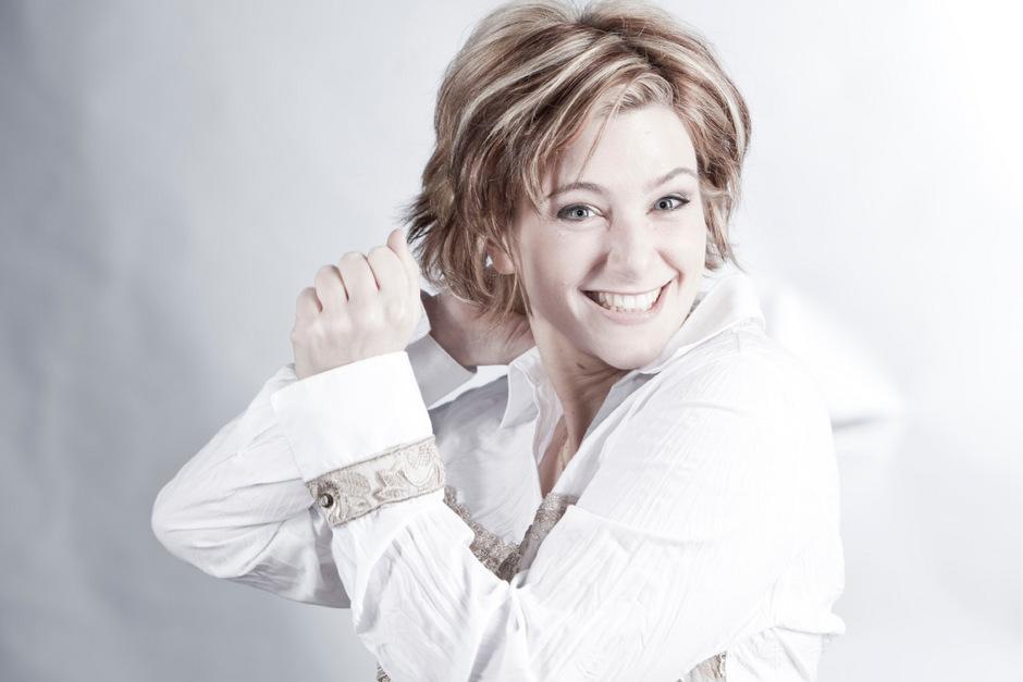 """Melanie Hirsch wird mit dem Ensemble """"vita & anima"""" am 21. Dezember im Innsbrucker Canisianum ein Weihnachtskonzert gestalten."""