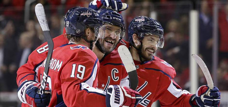 Drei Owetschkin Tore Bei 62 Sieg Der Capitals Gegen Red Wings
