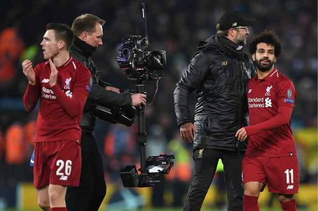 Liverpool-Coach Jürgen Klopp konnte sich einmal mehr bei Goalgetter Mo Salah bedanken.