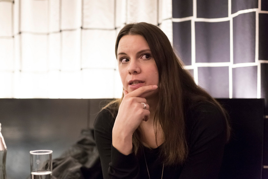 """Mit ihrem Romandebüt """"Zwischen Schaumstoff"""" war Didi Drobna 2016 """"Innsbruck liest""""-Autorin."""