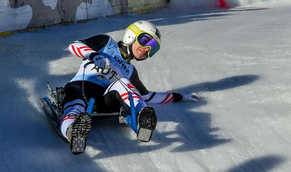 Die zweifache Kühtai-Siegerin Tina Unterberger will auch diesmal als Schnellste die engen Kurven kratzen.