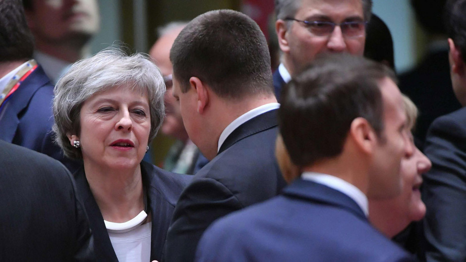 Theresa Mays Hinhaltetaktik sorgte in Brüssel für Verärgerung.
