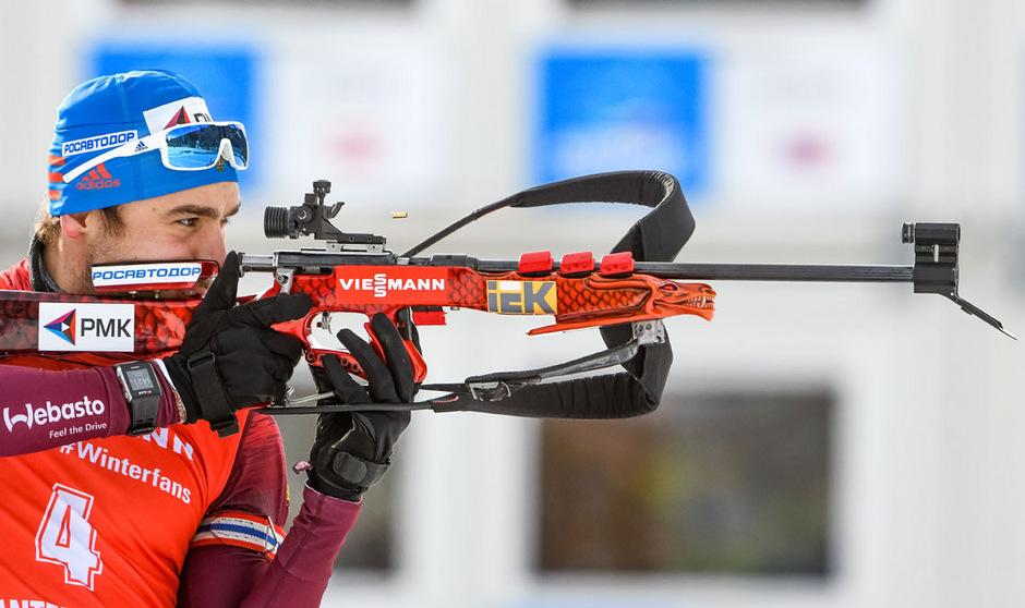 Im Visier der Ermittler: Russlands Biathlon-Star Anton Schipulin.