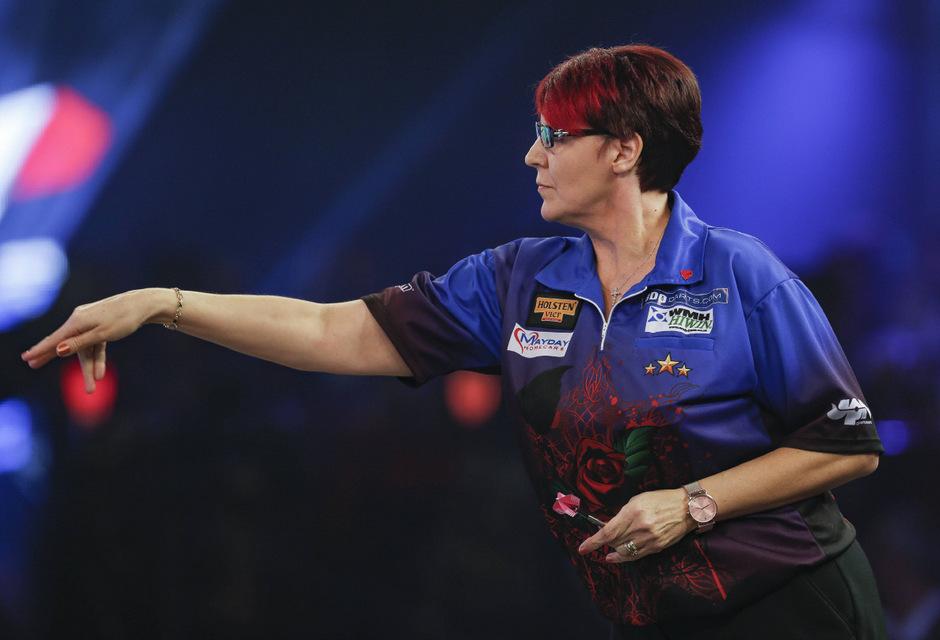 Nach der erfolgreichen Qualifikation war für Lisa Ashton in Runde eins Endstation.