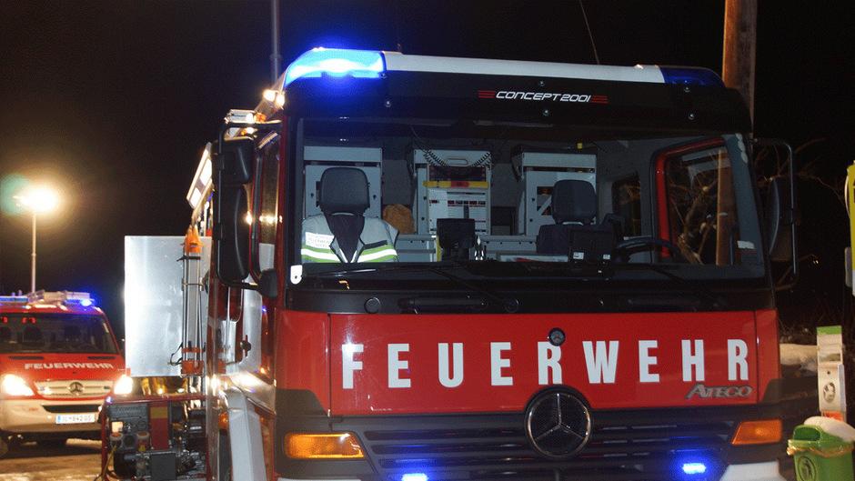 Der Brand brach gegen 18.30 Uhr aus.