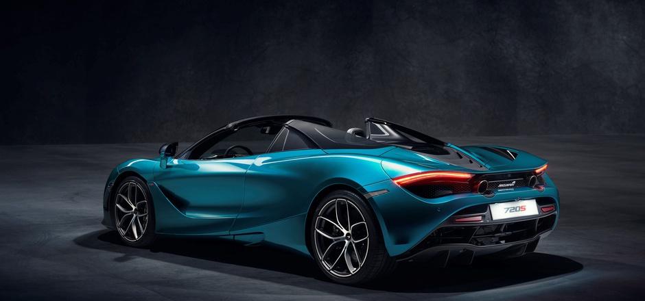 Nur 1332 Kilogramm beträgt das Trockengewicht des McLaren 720S Spider.