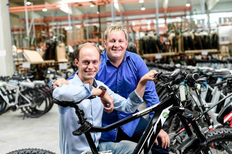 Die Greenstorm-Geschäftsführer Philipp Zimmermann und Richard Hirschhuber wollen eine länderübergreifende E-Commerce-Präsenz aufbauen.