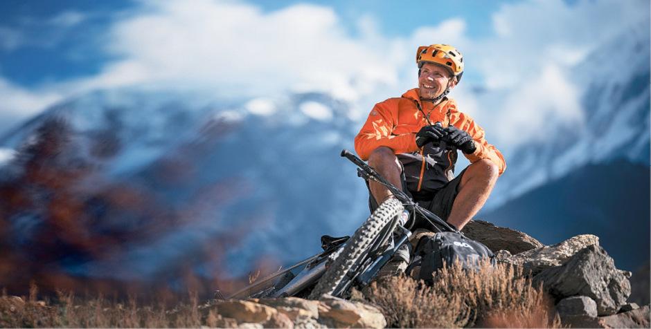 Harald Philipp lebt als Profi-Mountainbiker in seiner Wahlheimat Innsbruck.