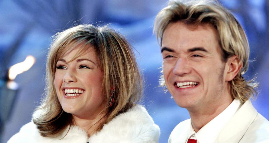 """Hier waren sie noch kein offizielles Paar: Helene Fischer und Florian Silbereisen beim """"Winterfest der Volksmusik"""" im  Februar 2006."""