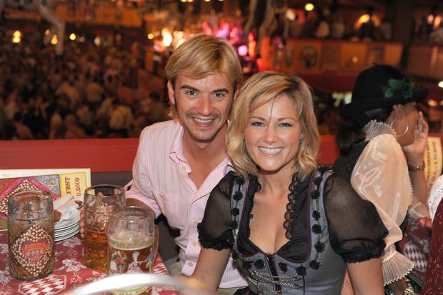 Die Schlagerstars 2009 auf dem Münchner Oktoberfest.