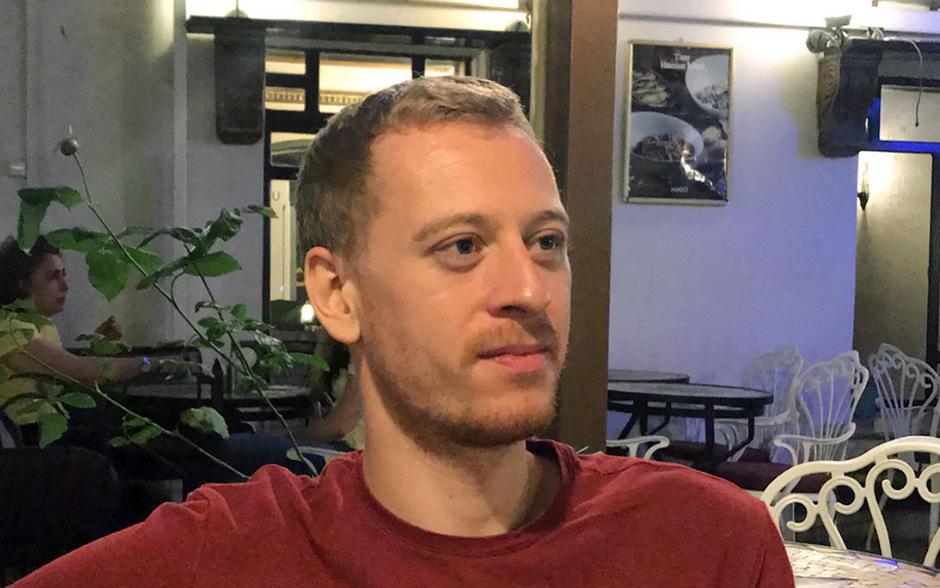 Der Steirer Max Zirngast sitzt seit 11. September in der Türkei im Gefängnis.