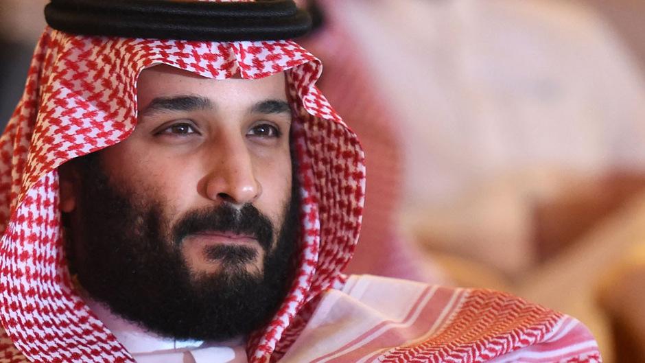 Kronprinz Mohammed bin Salman.