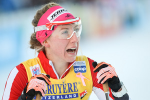 Langläuferin Teresa Stadlober.