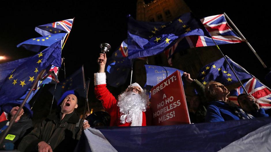 Der Brexit wird die Menschen auch im neuen Jahr bewegen.