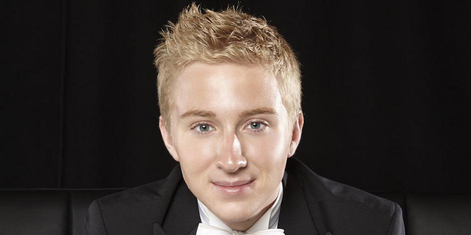 Der junge steirische Dirigent Patrick Hahn.