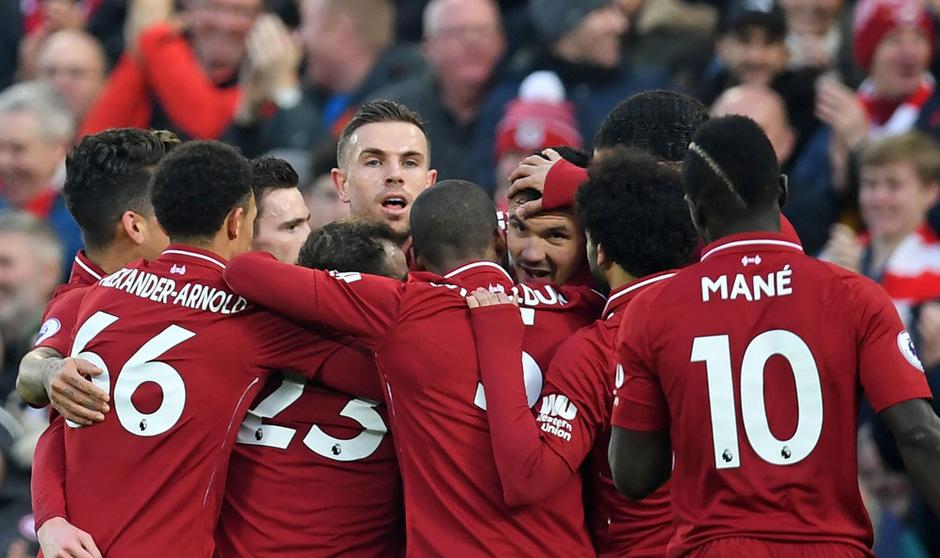 Der FC Liverpool kommt momentan in der Liga nicht aus dem Jubeln heraus.