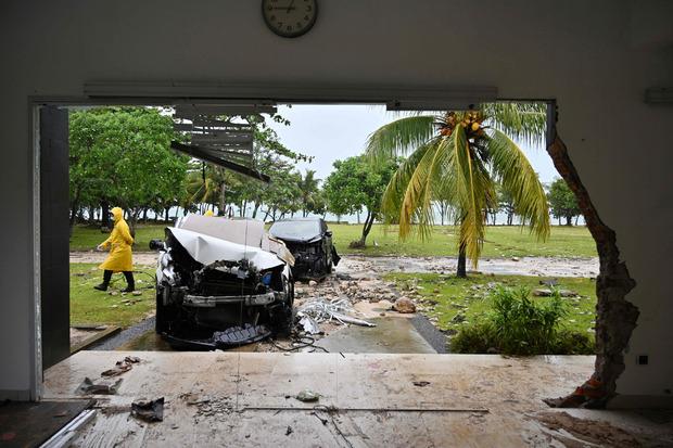 Vor wenigen Tagen waren in Indonesien durch einen Tsunami mehr als 430 Menschen ums Leben gekommen.