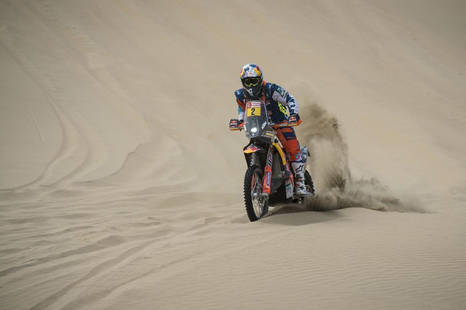 Der Sand wird für Walkner und seine Konkurrenten 2019 zum steten Begleiter auf der Rallye Dakar.
