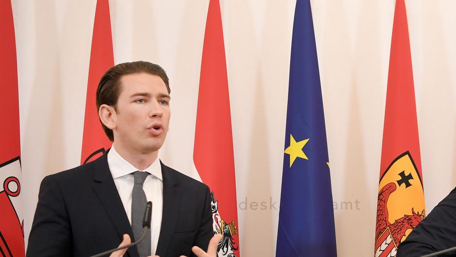 Bundeskanzler Sebastian Kurz sieht keine Belastung in der Koalition mit der FPÖ.
