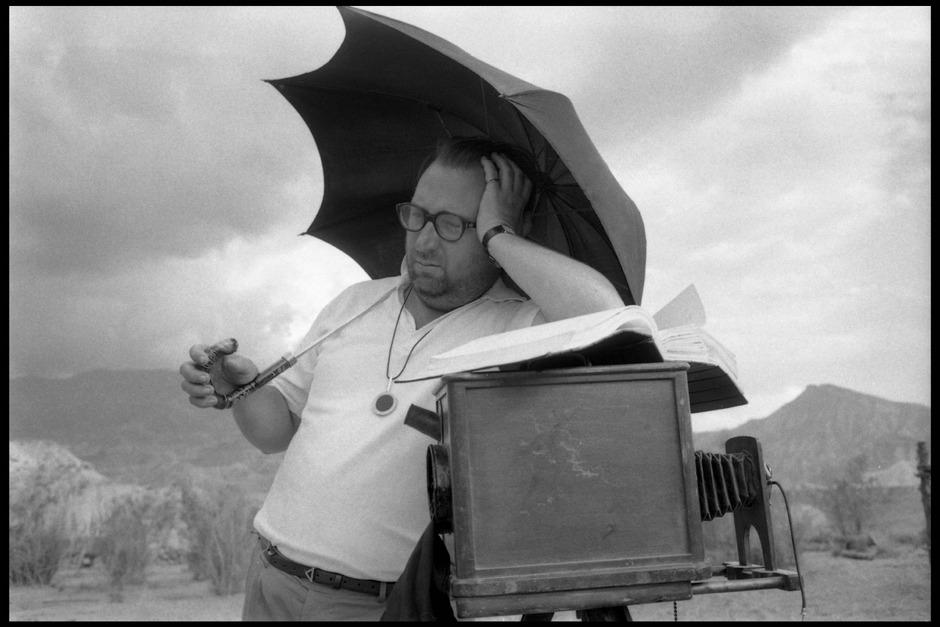 """""""Für eine Handvoll Dollar""""-Regisseur Sergio Leone, 1964."""